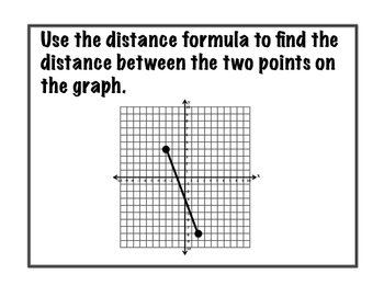 Distance Formula Passport Activity