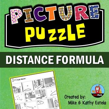 Distance Formula Picture Puzzle
