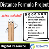 Distance Formula Project (Template & Rubric Included)