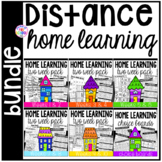 Distance Home Learning Bundle - Preschool, Pre-K, and Kind