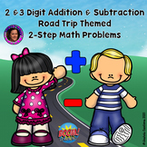 Distance Learning: 2 & 3 Digit Addition & Subtraction 2 St