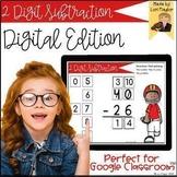 Distance Learning- 2 Digit Subtraction Digital Task Cards