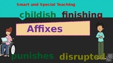 Distance Learning Suffixes & Prefixes PPT & Google Slides Unit 5