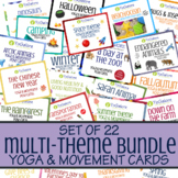 Distance Learning: 22 Sets of Multi-Theme Yoga & Movement