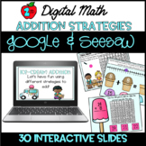 Distance Learning 2nd Grade Digital Addition Strategy Prac