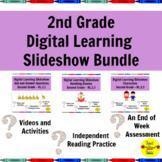 Distance Learning 2nd Grade Reading Standards-Based Slides