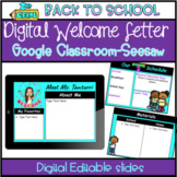 Distance Learning-2nd Grade Welcome Letter For Google and