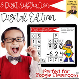 Distance Learning- 3 Digit Subtraction Digital Task Cards Set 2