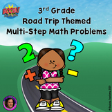 Distance Learning: 3 Grade Multi Step Word Problems
