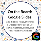Distance Learning: 320 Riddles, Jokes, Proverb, Quotes for