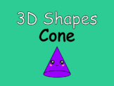 Distance Learning 3D Shapes Cone (Google Slides)