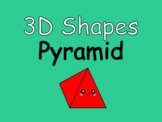 Distance Learning 3D Shapes Pyramid (Google Slides)