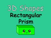 Distance Learning 3D Shapes Rectangular Prism (Google Slides)
