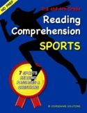 3rd and 4th Grade Reading Comprehension - Sports Stories