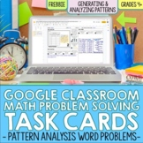 Distance Learning 4th Grade Pattern Analysis Digital Word