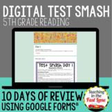 Distance Learning 5th Grade Reading Digital Test Prep