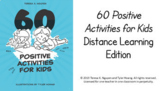 Distance Learning: 60 Positive Activities Prompts Google Slides