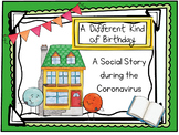 Distance Learning:  A Birthday Themed Social Story for Cor