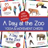Zoo Yoga & Movement Pose Cards