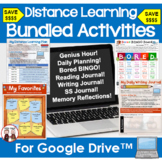 Distance Learning Activity Bundle for Google