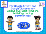 Distance Learning Adding Two-Digit Numbers With Regrouping