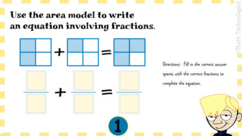 Distance Learning - Adding and Subtracting Fractions: Digital Task Cards Google