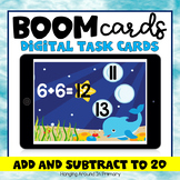 Distance Learning | Addition and Subtraction to 20 | Boom Cards