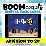 Distance Learning | Addition to 20 | Boom Cards