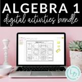 Distance Learning: Algebra 1 Digital Activities Bundle