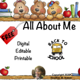 Distance Learning - All About Me