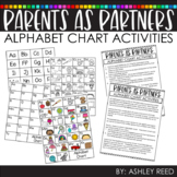 Distance Learning - Alphabet Chart Activities Guide for Parents