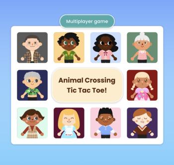 Animal Crossing Tic-Tac-Toe Brain Break