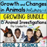 Animal Research: Grade 2 Science BUNDLE SEESAW™
