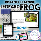 Distance Learning Animal Research  the FROG