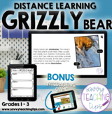 Distance Learning Animal Research  the GRIZZLY BEAR