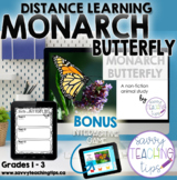 Distance Learning Animal Research  the MONARCH BUTTERFLY