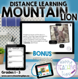 Distance Learning Animal Research  the MOUNTAIN LION