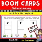 Distance Learning | April PK and Kindergarten Morning Work