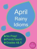 Distance Learning ~ April Rainy Idioms
