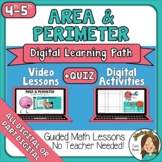 Distance Learning Area and Perimeter Teaching Videos, Acti