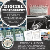 Distance Learning Art Photography Project: Social Commenta
