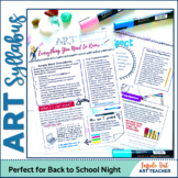 Distance Learning: Art Syllabus-First Day of School
