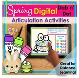 Distance Learning | Articulation Activities Speech Therapy