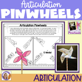 Distance Learning Articulation Activity: Pinwheels