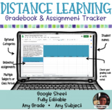 Distance Learning Assignment Tracker  - Paperless Digital
