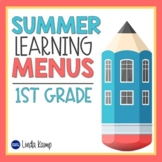 Summer Packet Practice Activities with Parent Letter for F
