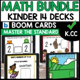 Distance Learning BOOM CARDS Common Core K.CC  BUNDLE