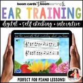 Distance Learning Music BOOM Cards: Ear Training with Ties