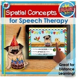 Distance Learning BOOM | Speech Therapy | Spatial Concepts