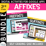 Distance Learning: BUNDLE Affixes for Google Classroom Pre